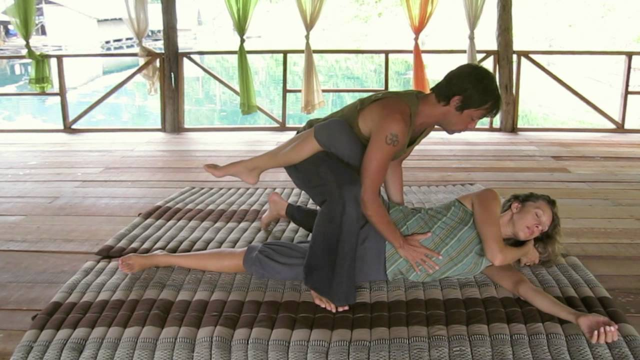 advanced thai yoga massage demo ralf marzen