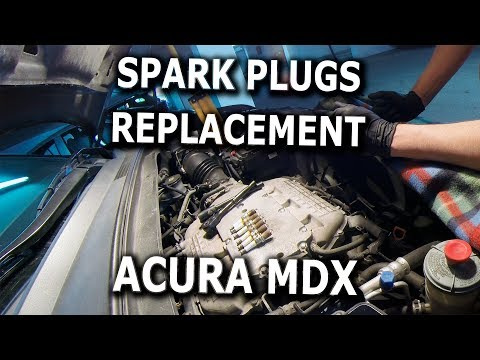 Spark Plugs Change DIY 2008 Acura MDX