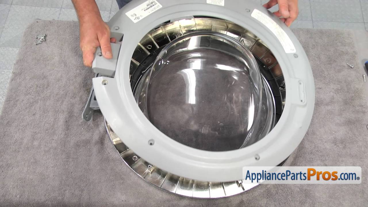 Superior Washer Inner Door Frame (part #134550702)   How To Replace