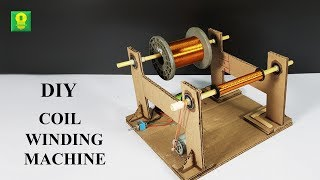How to make Coil Winding Machine at home