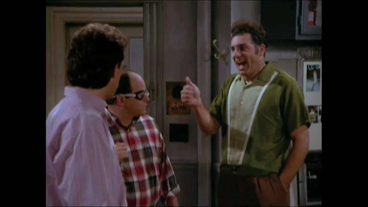 Seinfeld Kramer Gif