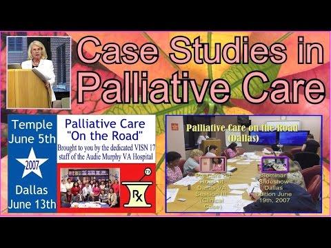 STGEC: PalCare RoadShow-Dallas | Palliative Care Case Study (2007)