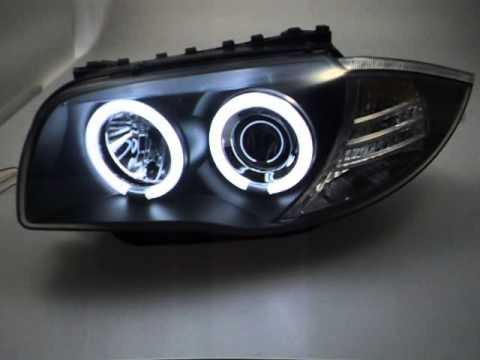 Ccfl Angel Eye Scheinwerfer F 252 R Bmw 1er E87 E81 E88 E82