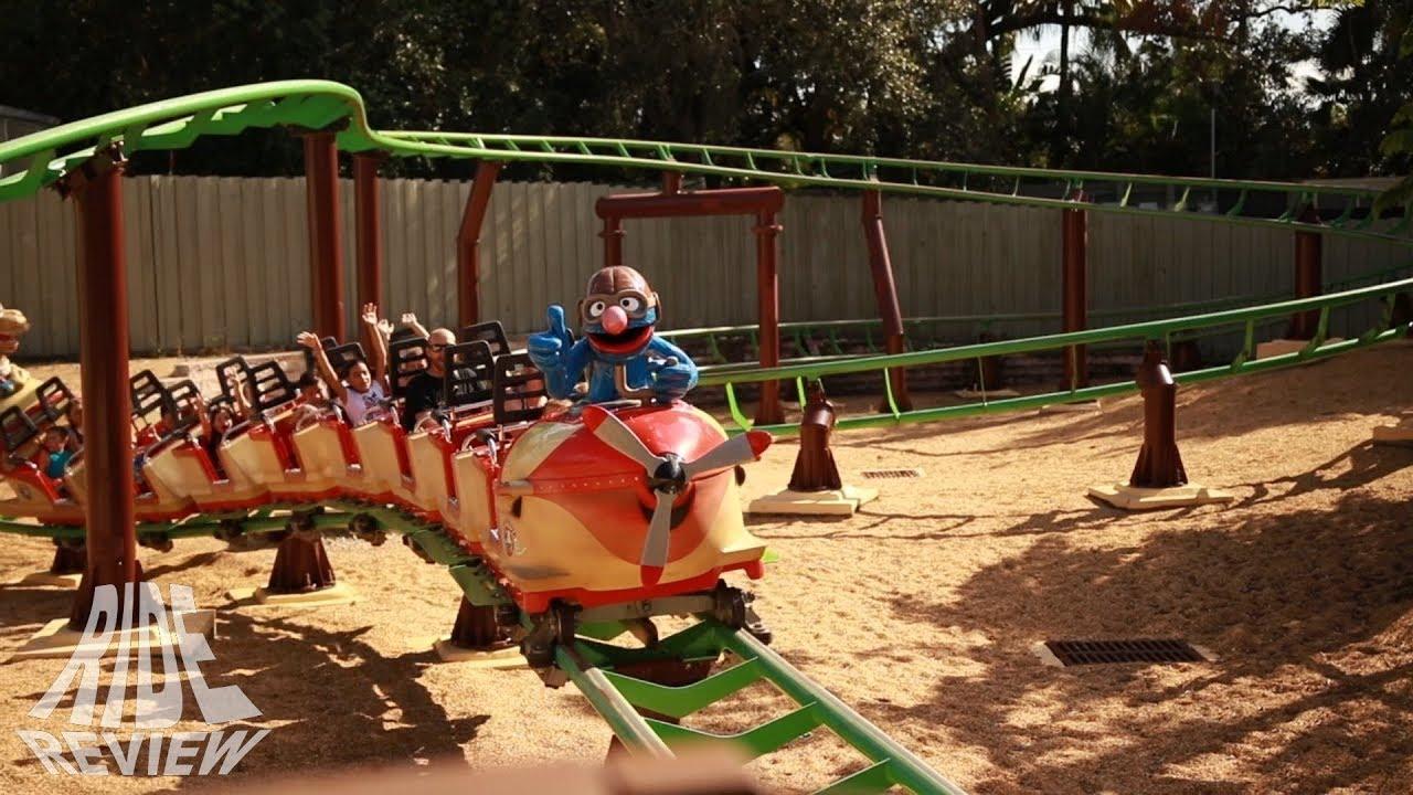 Air Grover - Busch Gardens Tampa - YouTube