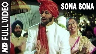 'Sona Sona' Full VIDEO Song - Major Saab | Amitabh Bachchan, Ajay Devgn, Sonali Bendre