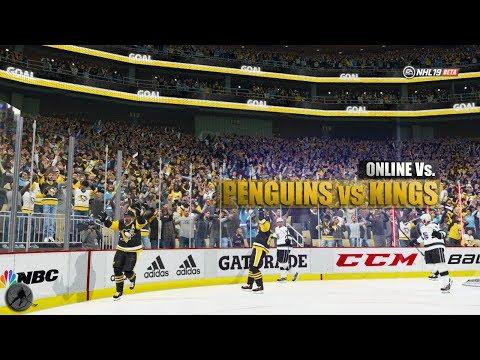 NHL 19: Penguins vs Kings Online Vs. | FULL GAME