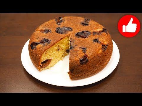 Пирог со сливой в мультиварке рецепты с фото пошагово