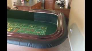 Diy Craps Table Finished Video11