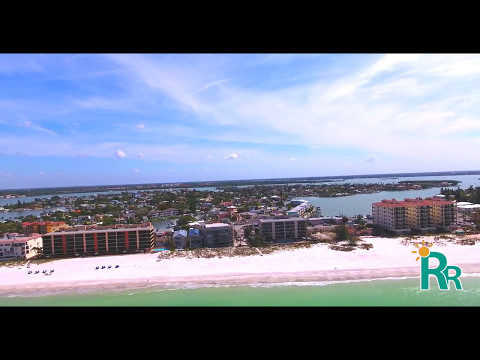 Madeira Beach Florida - Drone Video by Resort Rentals!
