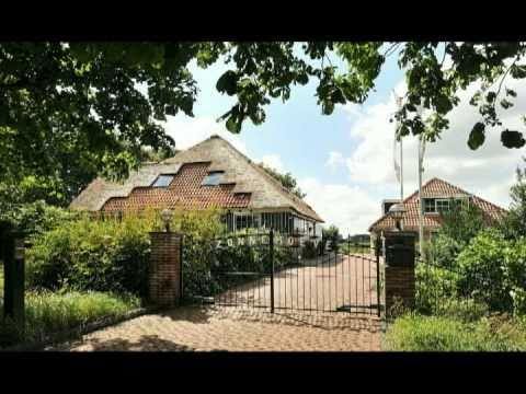 Te koop luxe woonboerderij aan de noorddijkerweg 15 te for Woonboerderij te koop