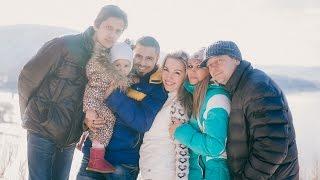 Ферма хаски|Семейная фотосессия
