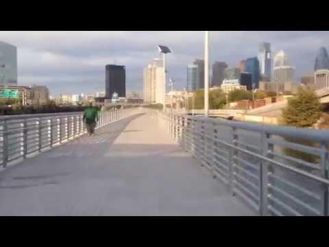 "A walk on the ""Boardwalk"" in Philly"