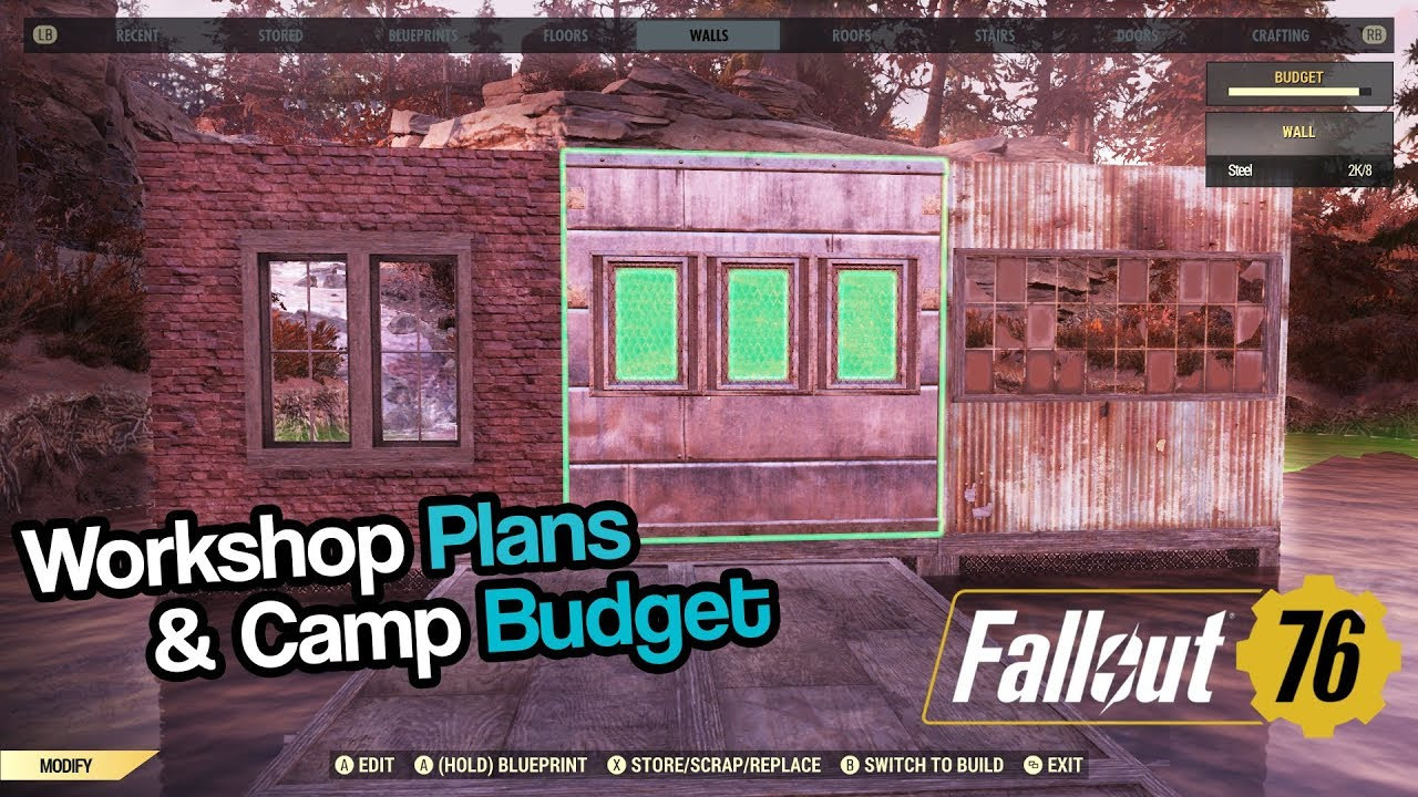 Fallout 76 Workshop Budget Glitch