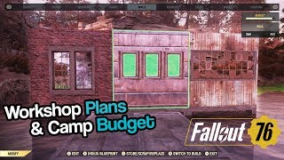 Fallout 76 - Where to Find C.A.M.P Workshop Plans