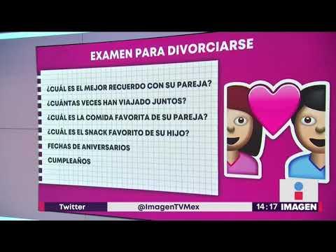 En China impone un examen para divorciarse | Noticias con Yuriria Sierra