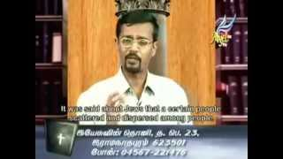 Vincent Selvakumar Teaching | A Christian | Life and Testimony of our Forefathers | Vedham Pudhidhu