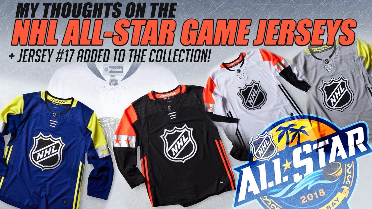 NHL All-Star Game Jerseys Thoughts + Jersey  17 Added to the Collection! 926ce4dc06c