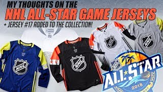 NHL All-Star Game Jerseys Thoughts + Jersey #17 Added to the Collection!