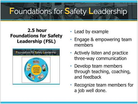 Tools for a Successful Workplace Safety & Health Program 2 21 18