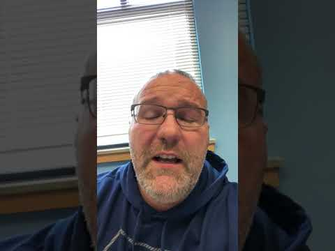 Salmon Creek Elementary school end of March Principal's video blog