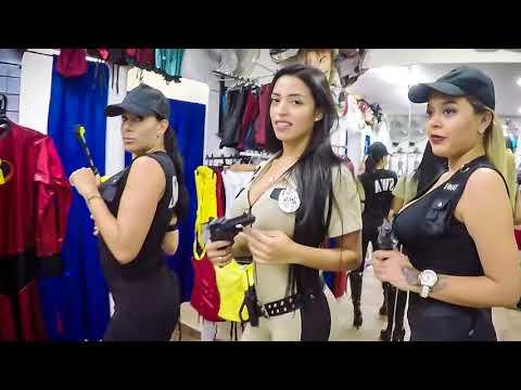 Disfraz de chicas Policias Halloween