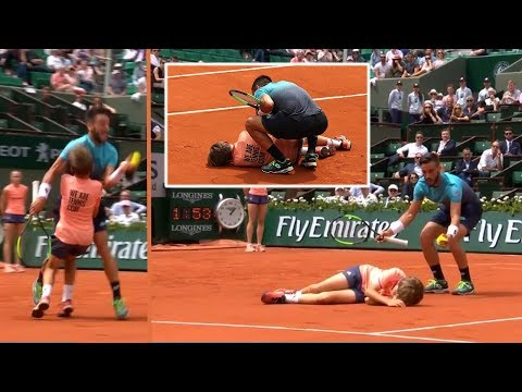 Sock uses his butt to distract Roger, Nastase sets along the crowd waiting for Mcenroe to finish complaining with the umpire, and More Tennis Moments you probably have missed!