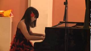 Iva Vukovic, 12 years old, F. Chopin: Fantaisie-Impromptu in C-sharp minor, Op. posth. 66