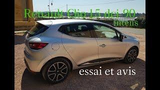 Renault clio 4 1.5 dci 90 intens Essai et avis