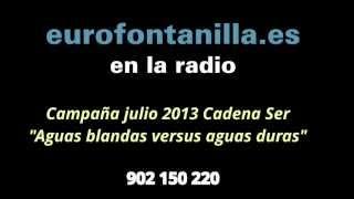 "Eurofontanilla en Estudio de Guardia II - ""Aguas blandas versus aguas duras"""
