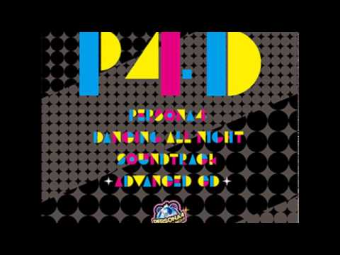 PERSONA4 DANCING ALL NIGHT SOUNDTRACK ADVANCED CD
