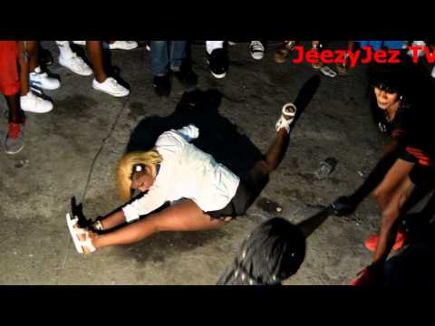 STREET DANCE IN KINGSTON JAMAICA PT.1 |SWAG TEAM GIRLS