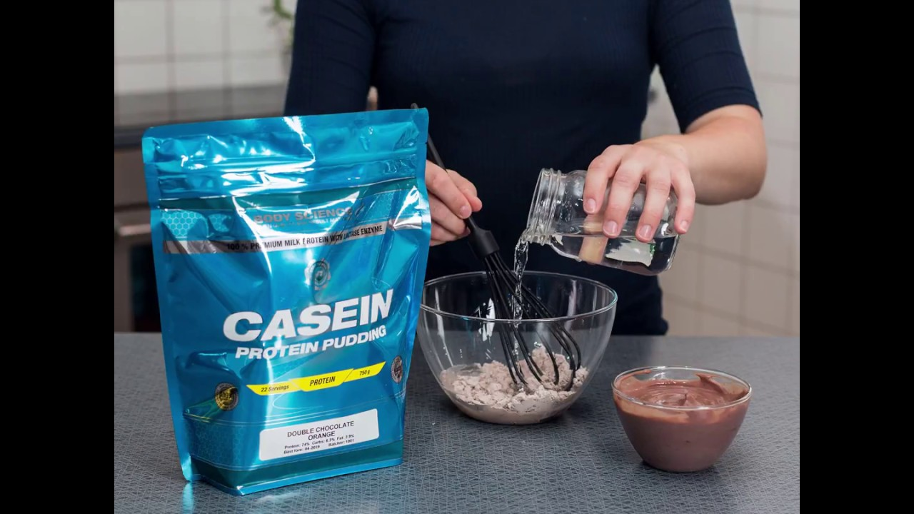 göra egen proteinpudding