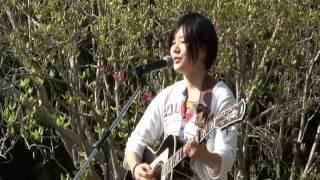 2012.4.15 安芸市内原野つつじ祭りコンサートで 「豆電球」 ステージに ...