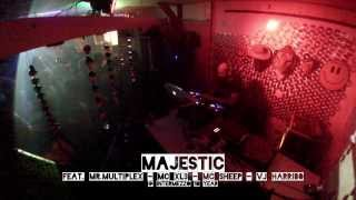 Majestic feat. Mr.Multiplex - MC XL3 - MC Sheep - VJ Harriebo @ Intermezzo on a Pioneer DDJ-SX
