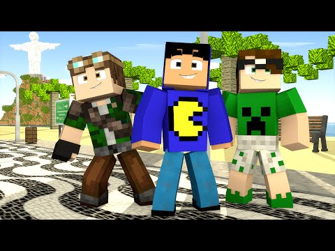 Minecraft: RIO DE JANEIRO! (Esconde-Esconde)