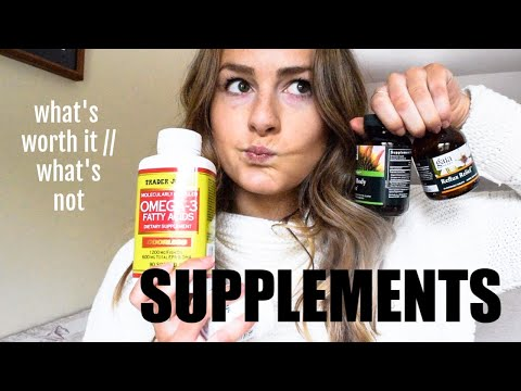 SUPPLEMENTS EXPLAINED | What's Worth It, How To Choose, + What I Take