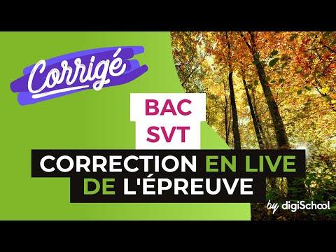 Bac S 2017 - Correction en LIVE de l'épreuve de SVT