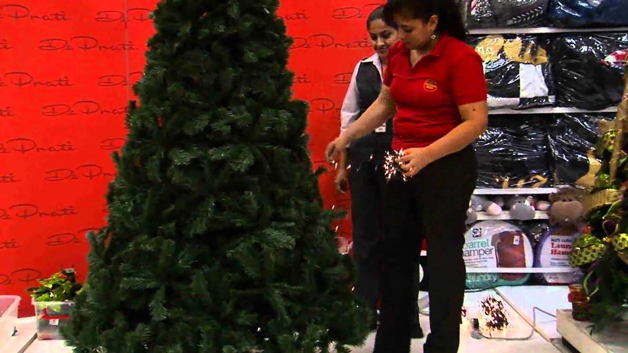Decoraci n de rboles de navidad 2010 parte 1 youtube - Como decorar un arbol de navidad ...