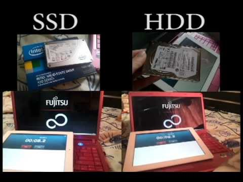 how to change from a hdd to a ssd