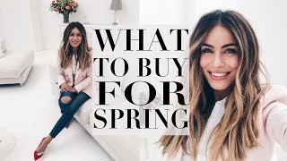 WHAT TO BUY FOR SPRING | HIGHSTREET & LUXURY | Lydia Elise Millen