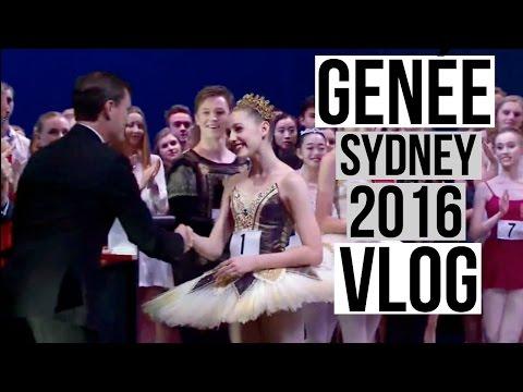 Genée 2016 Sydney Vlog   Talia