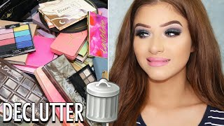 Decluttering My Eyeshadow Palette Collection 2018!