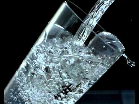 Стакан с водой (футаж) - YouTube