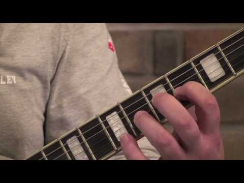 A Major Scale on Guitar