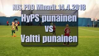 NJS P09 Minarit 14 4 HyPS punainen vs Valtti punainen
