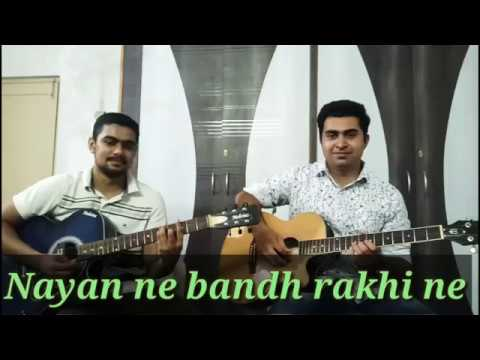 Nayan ne bandh rakhine   Manhar Udhas   Instrumental   Guitar Cover   By Jenil Bhatt & Neel Patel