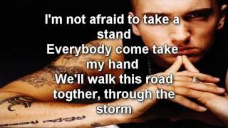 eminem not afraid lyrics 1080p hq