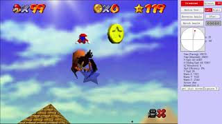 [TAS] SM64 - In The Talons of The Big Bird in 13.23s