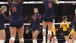 Illini Volleyball | Iowa Highlights | 1.23.21