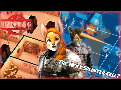 So Basically Splinter Cell but EVERYONE'S a furry?? | Hacktag - an asymmetrical stealth game |